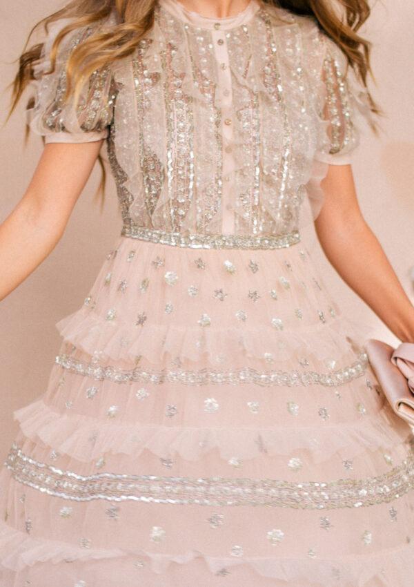 Layered Lace Midi
